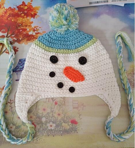 детские вязаные шапки зима теплая крючком кепки обувь для девочек