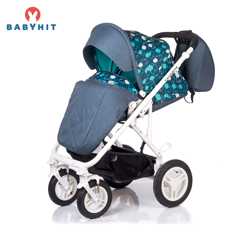 Four Wheels Stroller BabyHit FAVORITE Kidstravel