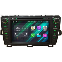 Android 7.1.2 Quad Core(16GB ROM 32GB ROM for choice) 2GB RAM car multimedia GPS Player for Toyota PRIUS Right Hand Dr 2009-2015