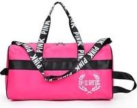 lady love pink girl travel duffel bag women Travel Business Handbags Victoria beach shoulder large capacity Letter Messenger bag