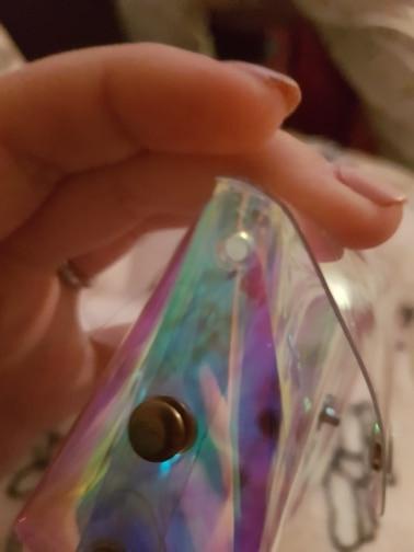 eTya Transparent Coin Purse Women Small Wallet Female Change Purses Mini Children's Pocket Wallets Key Card Holder PVC Hand bags photo review