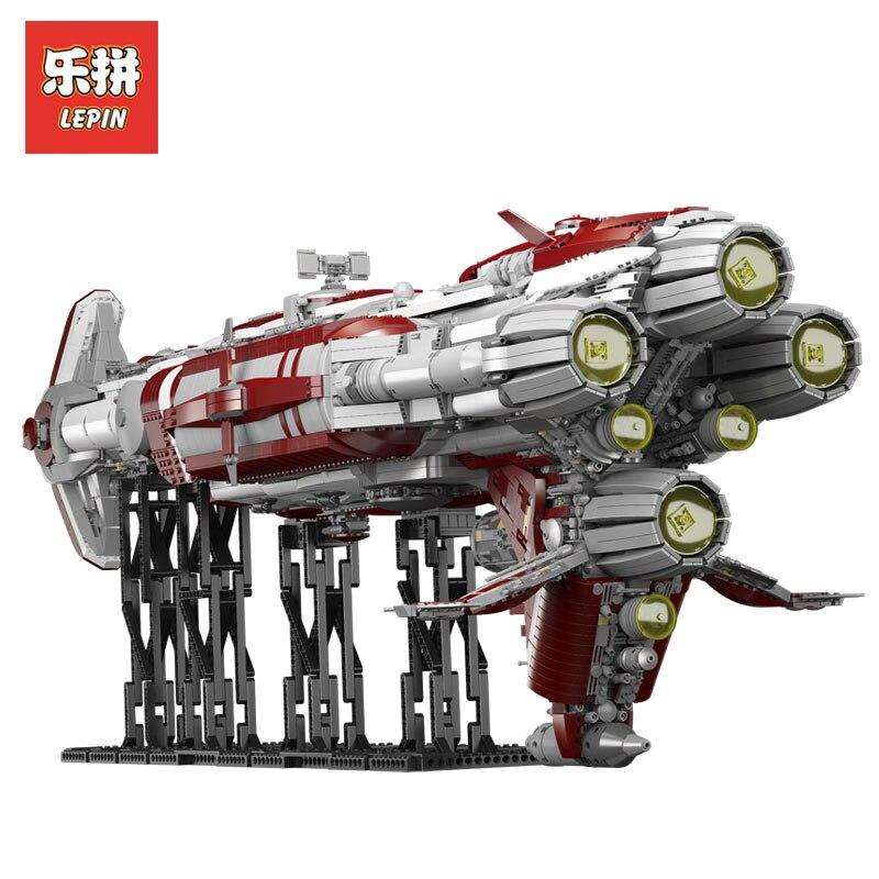 В наличии DHL Лепин комплекты Star Wars 7956 шт. 05079 Moc Зенит Old Republic эскорт крейсер модель здания Наборы блоки кирпичи Kid Игрушка