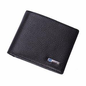 Image 5 - Modoker portefeuille Intelligent pour hommes, en cuir véritable, porte monnaie Intelligent avec Bluetooth, bonne qualité, Anti perte, porte cartes, costume pour Business