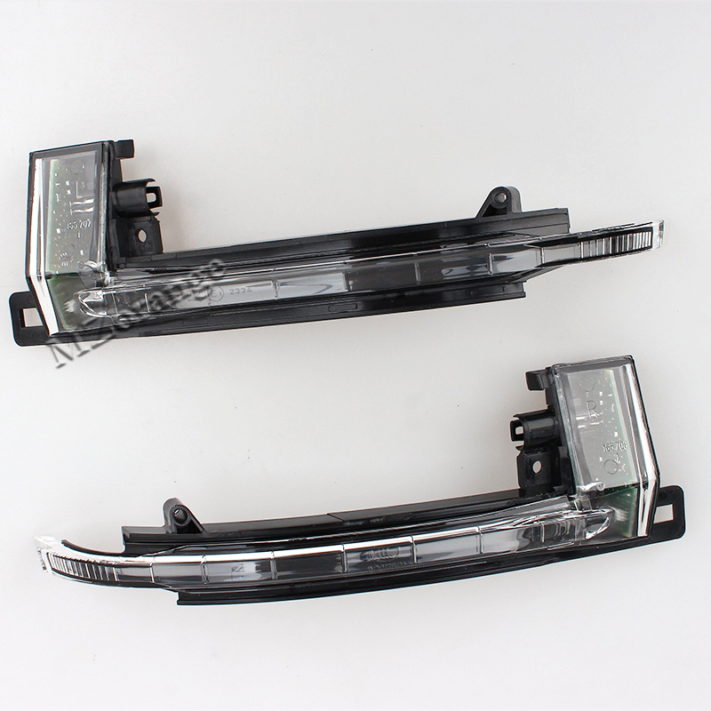 Turn Signals Light Rearview Mirror Lamp FOR Audi Left and Right Side A4 B8 A6 C6 A5 2008 2009 2010 2011 1 Pair 1 psc left side mirror indicator light turn signal lamp for mazda 6 2 0l 2008