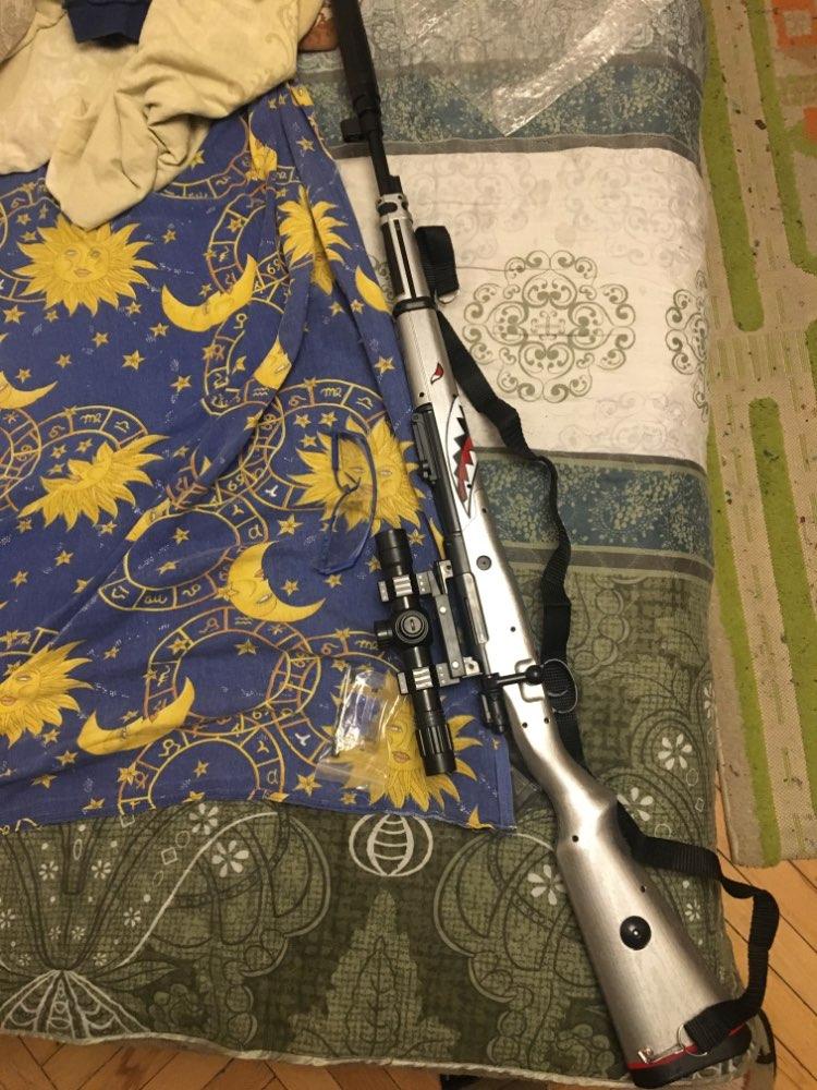 Zhenduo Toy KAR98K Gel Ball Shooter Water Bullet Soft Gun Strike Darts Backyard Blasters  gun Free  For Christmas Gift