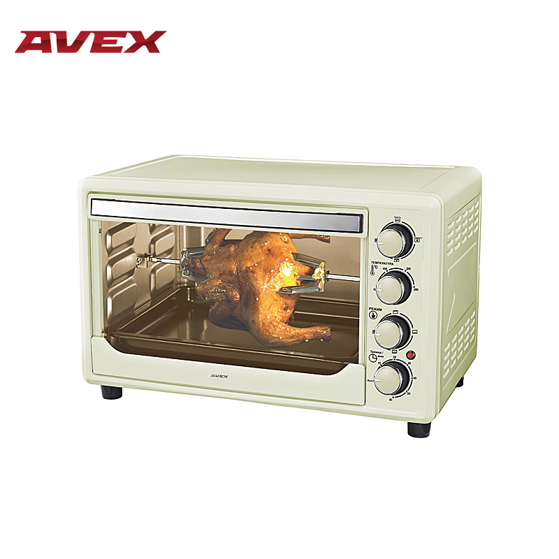 Electric oven with convection AVEX TR350YCL multifunction Mini household electric oven with convection shipule stainless steel baking oven electric oven for making bread cake pizza with temperature control 220v