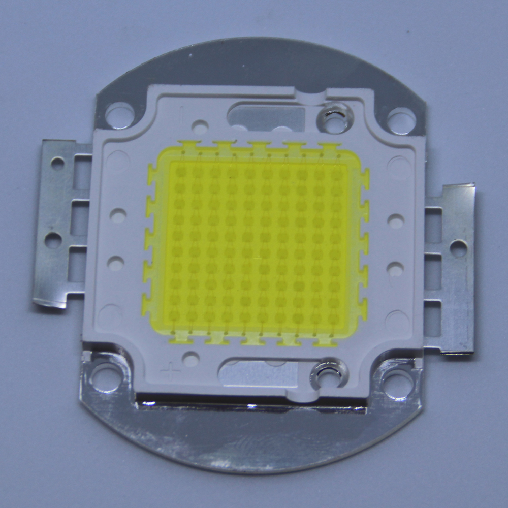 1PCS LED high power 100W chip white light 6500K 3000K 4500K 8000K lighting light Puri 45MIL led bulb