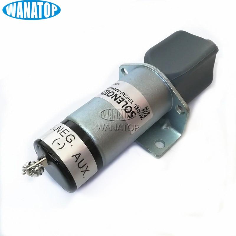 12V Fuel Shut-Down Solenoid,Shut off solenoid valve 1502ES-12C6U1B2S1