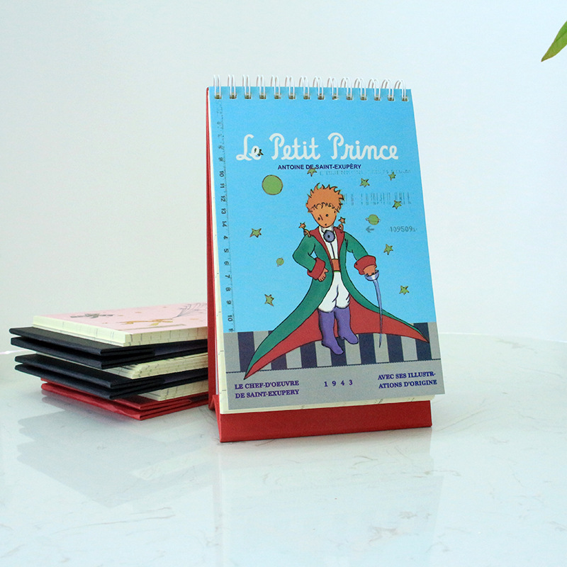 The Little Prince weekly plan book desktop planner portable memo time table notebook student gifts the little prince