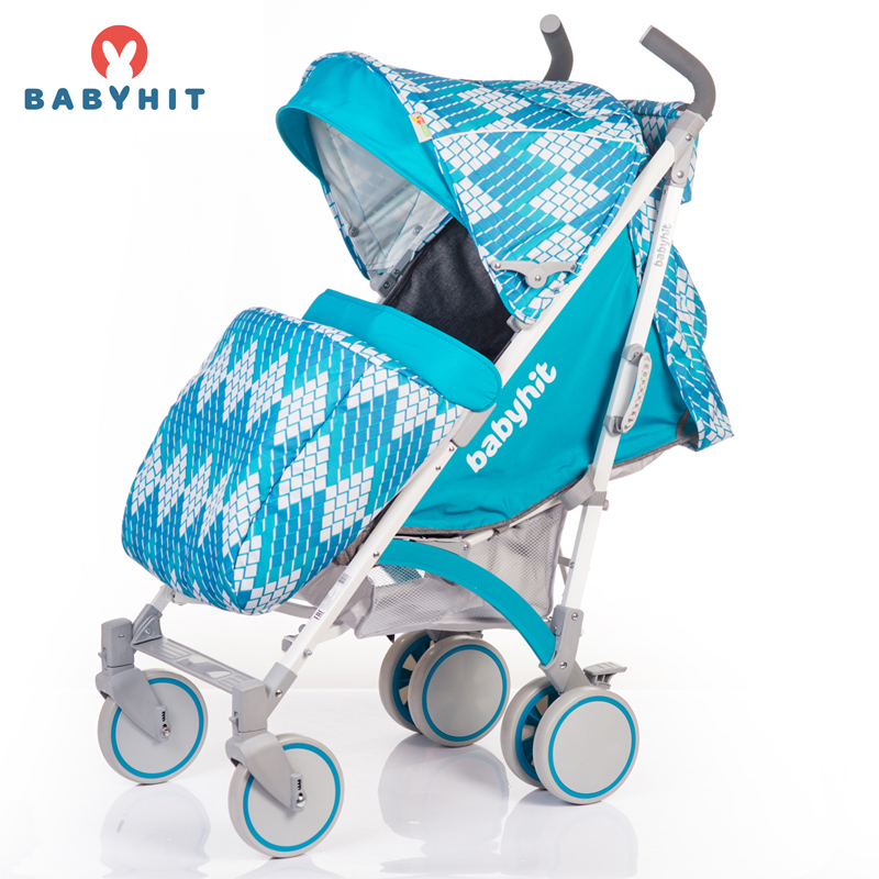 Baby Stroller Lightweight Stroller BabyHit RAINBOW 2017, reed stroller, baby stroller Kidstravel pouch light weight portable travel airplane baby stroller can sit lie car foldable summer baby umbrella cart trolley pram 0 3y