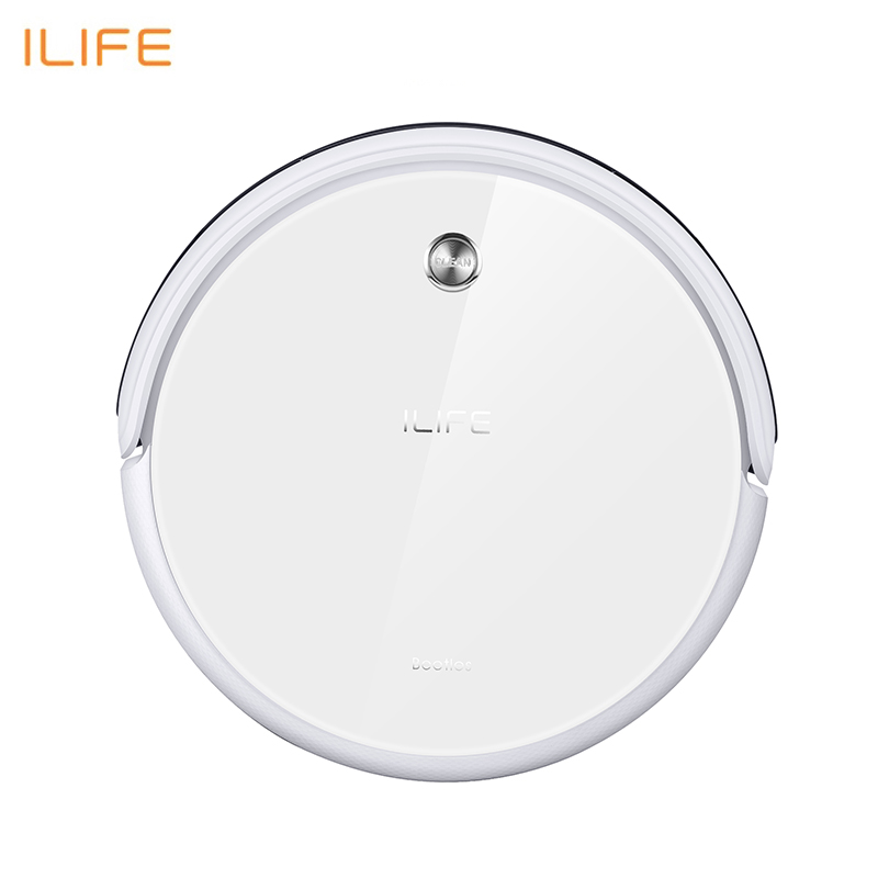New Robot Vacuum Cleaner iLife A40 for Home Household 450ml Dustbin with Self-recharge Cyclone Vacuums cleaner Dry Mopping cleanmate qq6 robot vacuum cleaner black
