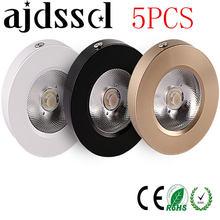 Ультратонкий Светодиодный точечный светильник с cob матрицей
