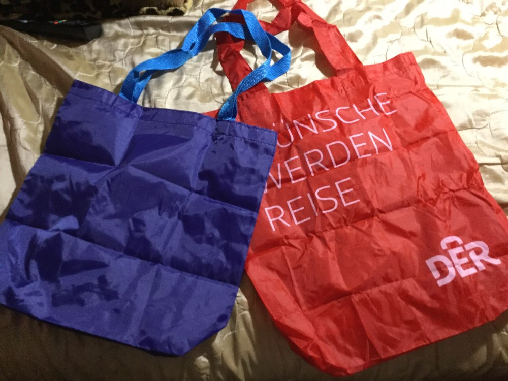 Custom Reusable Nylon Bags Durable Grocery Totes Shopping Bags photo review