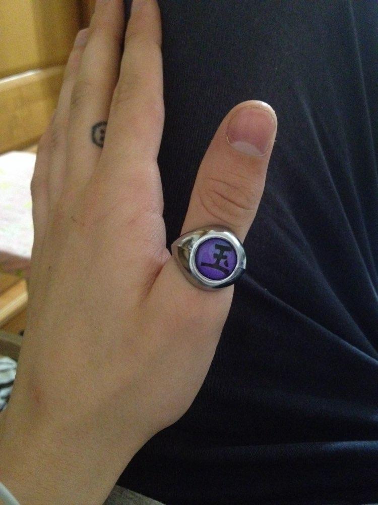 Naruto Akatsuki Cosplay Rings photo review