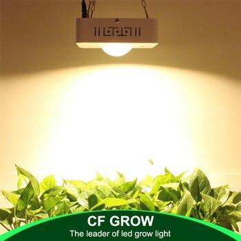 COB LED Coltiva La Luce a Spettro Completo CREE CXB3590 100 W 12000LM 3500 K Sostituire HPS 200 W Crescere Lampada Indoor crescita Delle Piante a LED di Illuminazione