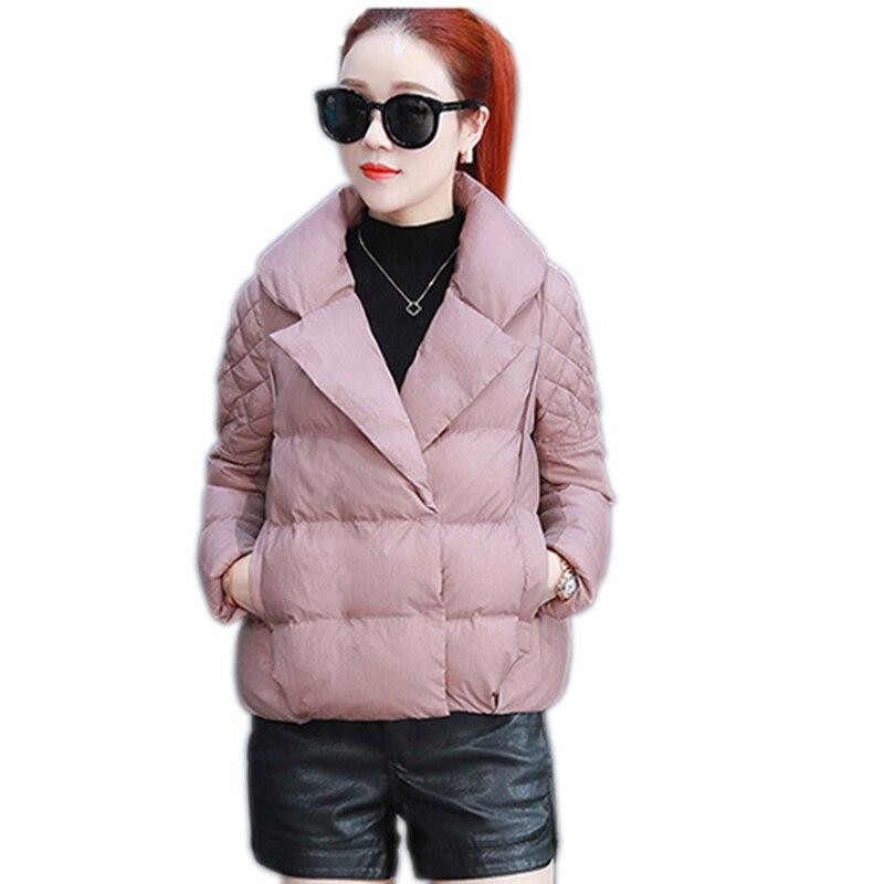 Nouveau automne et d'hiver coton veste femelle de haute qualité court paragraphe outwear de mode chaud chaud Pardessus femelle
