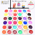 New nails gdcoco Pure color uv gel Paint Nail art Gel Kit 5ml DIY Decoration Gel for Nails manicure nail gel lacquer soak off