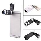 Universal 8-18x Zoom Optical Mobile Phone Telescope Telephoto Camera Lens + Clip