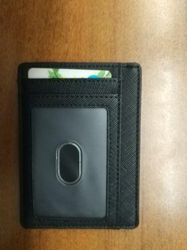 RFID blocking visitekaartje beschermhoes Super dunne mannen lederen bank id creditcardhouders mode unisex porte carte geschenken photo review