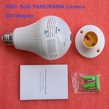 Zjuxin 360 degree Bulb WIFI Panoramic camera  house cameras