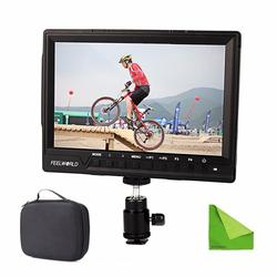 Feelworld FW760 FW-760 4K HDMI Output 7 Video Monitor IPS Full HD 1920x1200 HDMI 1080p Macro HDMI for BMPCC Dslr Camera