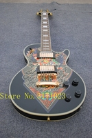 Classic LP 1959 R9 Les Electric Guitar With Gold Hardware Maple Body LP Standard Guitar Free