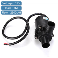 12V DC Fountain Water Pump Submersible Brushless Water Pump Fountains Aquarium Fish Tank 2900 LPH Free Shipping Garden Decor
