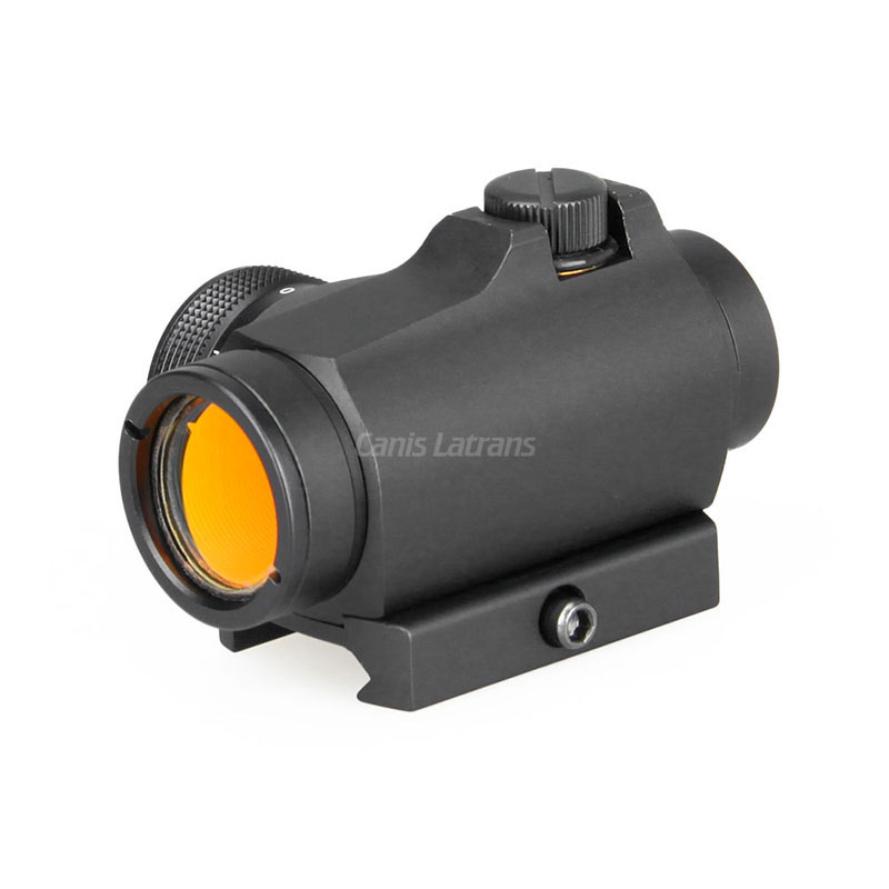 PPT MRO Style Red Dot Sight 1X20 2MOA Red Dot Scope Solar And Battery Two Charging Mode Tactical Airsoft In Hunting OS2-0106