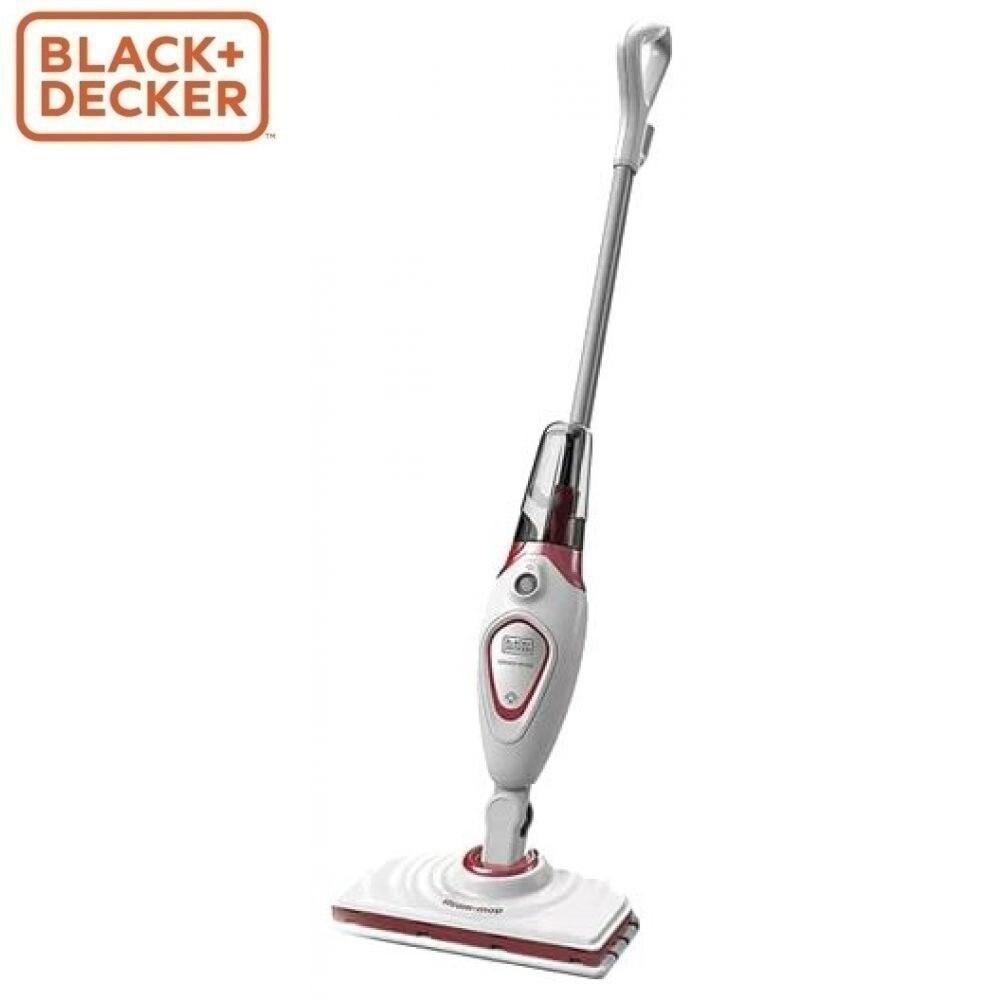 Steam mop BLACK + DECKER FSM1605R-QS steam mop pad defort dm 240 pad for dsc 1300 mop