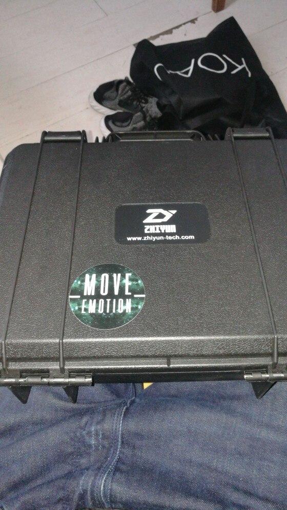 ZHIYUN официальный кран плюс 3-оси ручной Gimbal Стабилизатор Для беззеркальных DSLR Камера Поддержка 2,5 кг POV режим