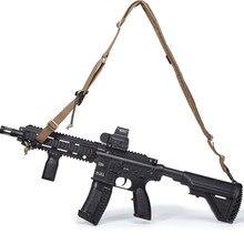 Тактический 2 точечный пистолет слинг Плечевой ремень металлическая пряжка Охотничьи аксессуары