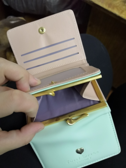 Aelicy short pu leather wallet female 2019 fashion new brand women's purse wallets ladies solid women's purses 1113 photo review