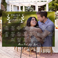 Please Find Your Seat, Rustic Custom Photo Seating Chart Plan, Wedding Seating Table Assignment Wooden Personalized Guests List