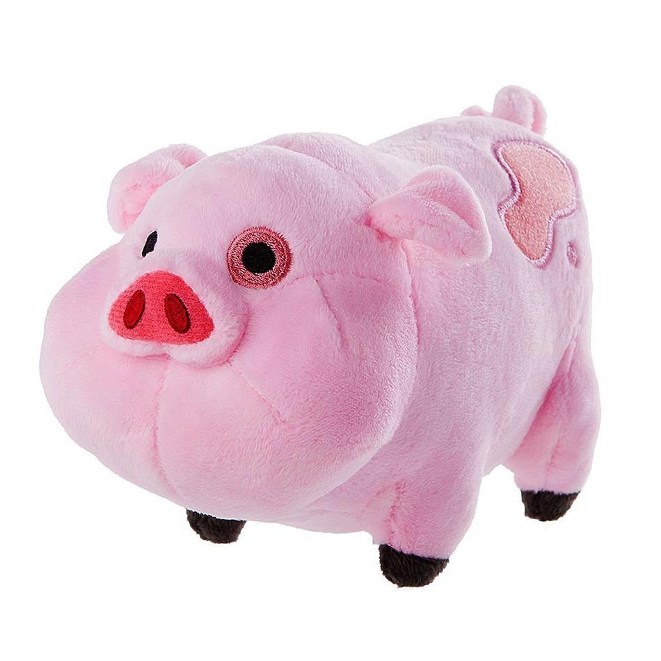 Plush Toys Gravity Falls Waddles Dipper Mabel Pink Pig Dolls & Stuffe Waddles Stuffed Soft Dolls Kids Birthday Gifts Wholesale