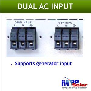 Image 4 - (MPI) 5000w híbrido rejilla inversor solar atado inversor Solar + fuera de la red solar inversor, entrada máxima PV 900vdc, paralelo able característica
