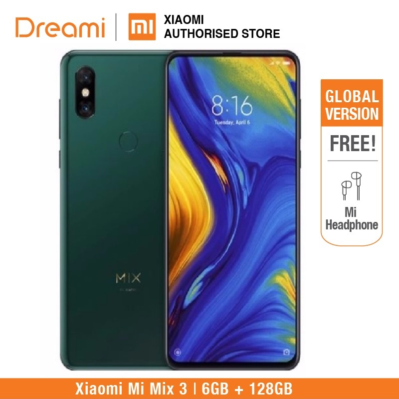 Versão Global Xiao mi mi mi x 6 3 128 GB ROM GB RAM (Brand New & Sealed Box)