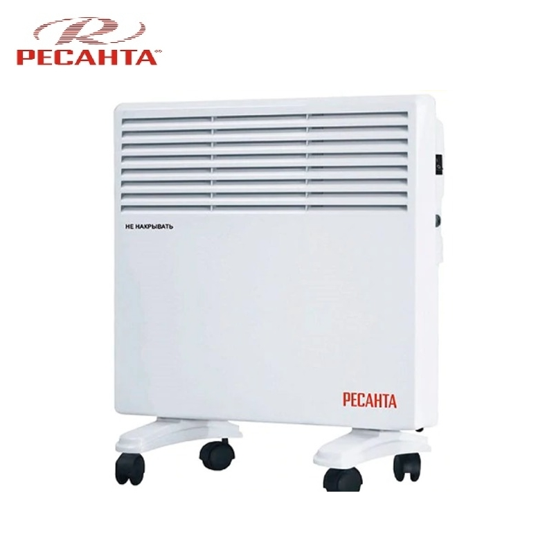 Convector RESANTA OK-500E Heating device Electroconvector Forced convection heater Wall-hung convector Mechanical converter convection heater resanta ok 1000c