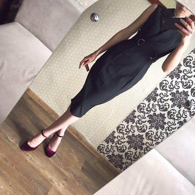 Элегантное платье-футляр с Алиэкспресс