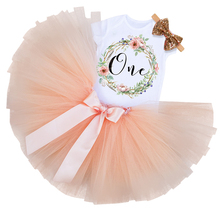 Toddler Girls Kids Baptism Clothes My Little Girl 1st Birthday Party Mini Dress Baby Tutu Cake Smash Outfits Set Christmas Cloth