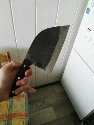 Handmade Multipurpose Serbian Chef's Knife photo review