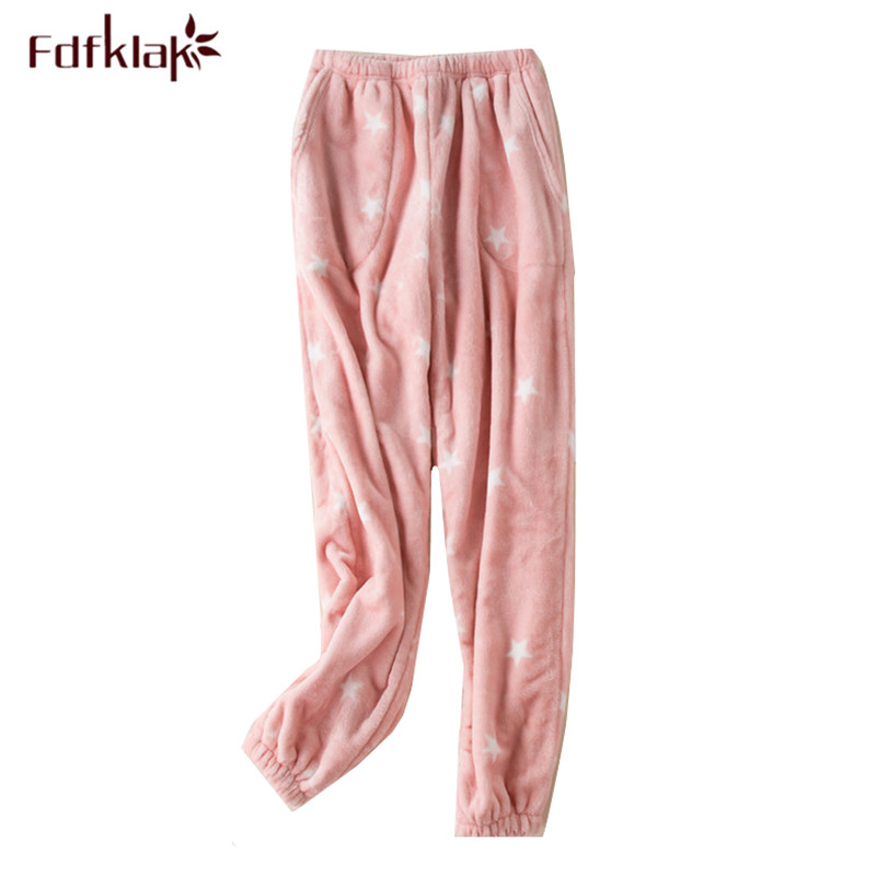 Ladies Womens Fleece Loungewear Pants Pyjama Bottoms Trousers Nightwear PJ