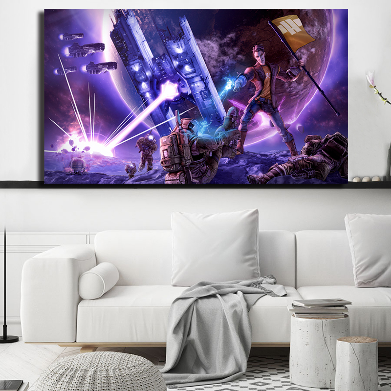 The Pre-Sequel Borderlands Game HD Wallpaper Canvas Posters Prints Wall Art Painting Decorative Picture Modern Home Decor image