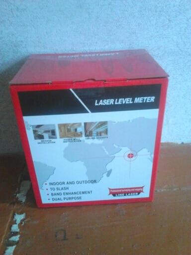 CLUBIONA 5 лазерных линий 6 очков 360 градусов Поворотный 635nm открытый режим-приемник и наклона slash доступно автоматическое линии лазерный уровень