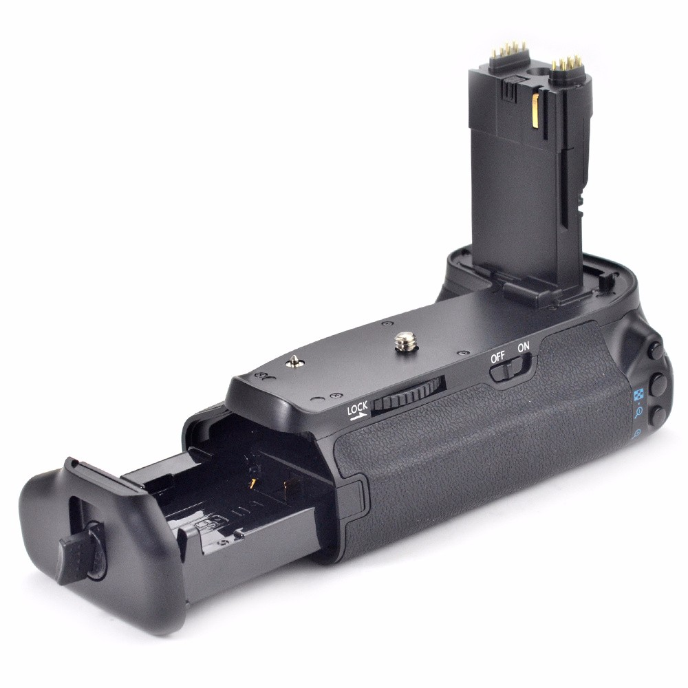 MeiKe BG-E14 Vertical <font><b>Battery</b></font> <font><b>Grip</b></font> Holder For Canon EOS 70D <font><b>80D</b></font> Camera image