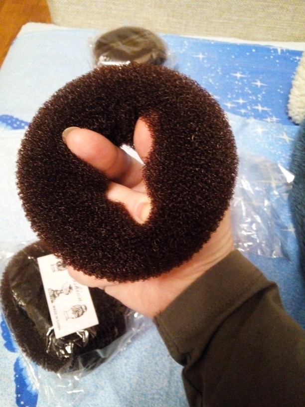 New Hot Fashion Elegant Women Ladies Girls Magic Shaper Donut Hair Ring Bun Fashion Hair Styling Tool Accessories
