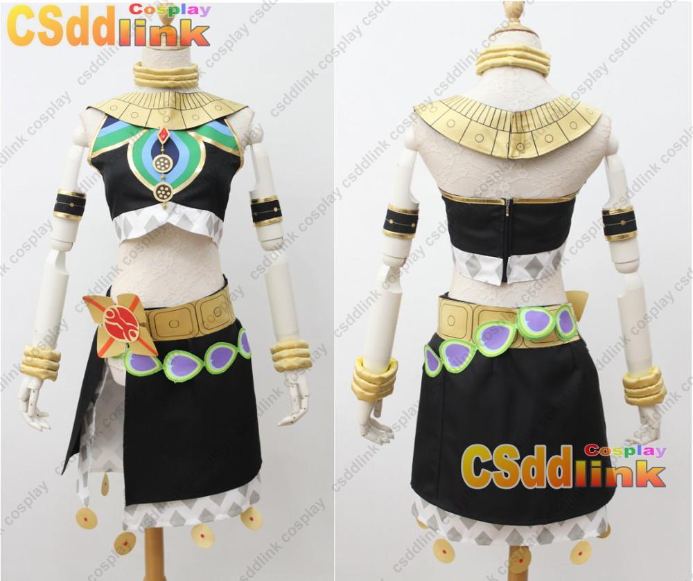 Legend of Zelda Breath of the Wild deluxe link cosplay costume with cape CSver.2