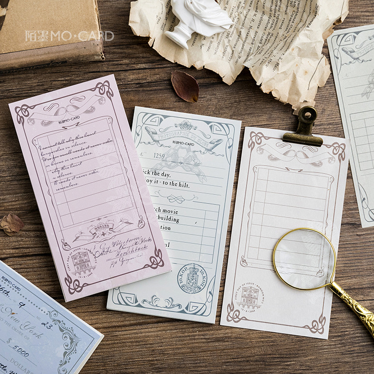 8 sets/1 lot Creative European memory Memo Pad Sticky Notes Escolar Papelaria School Supply Bookmark Post it Label