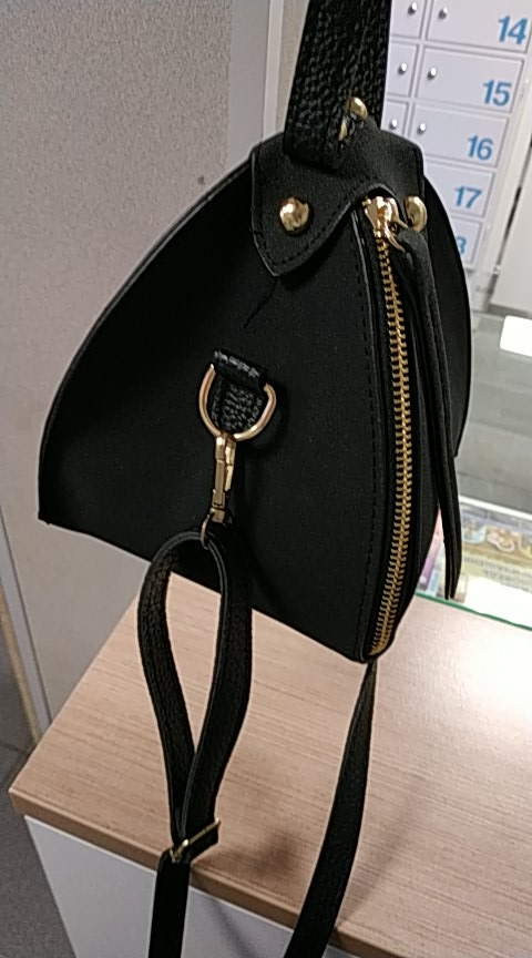 PACGOTH New Trendy Fashion PU Leather Scrub Solid Triangle Zongzi Wristlets Mini Clutches Tote Shoulder & Crossbody Bags 1 Piece photo review