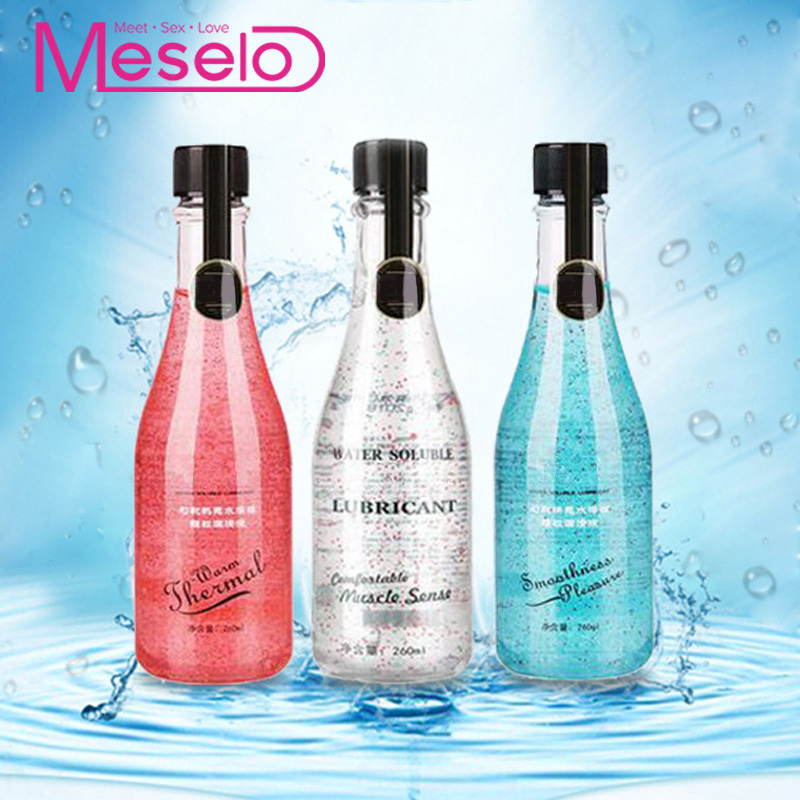 Meselo Magic Particle <font><b>Lubricant</b></font> 260ML Water-Based Lubricate Colorful Granular <font><b>Sex</b></font> Vagina <font><b>Anal</b></font> Lubrication Massage Oil <font><b>Sex</b></font> Toys image