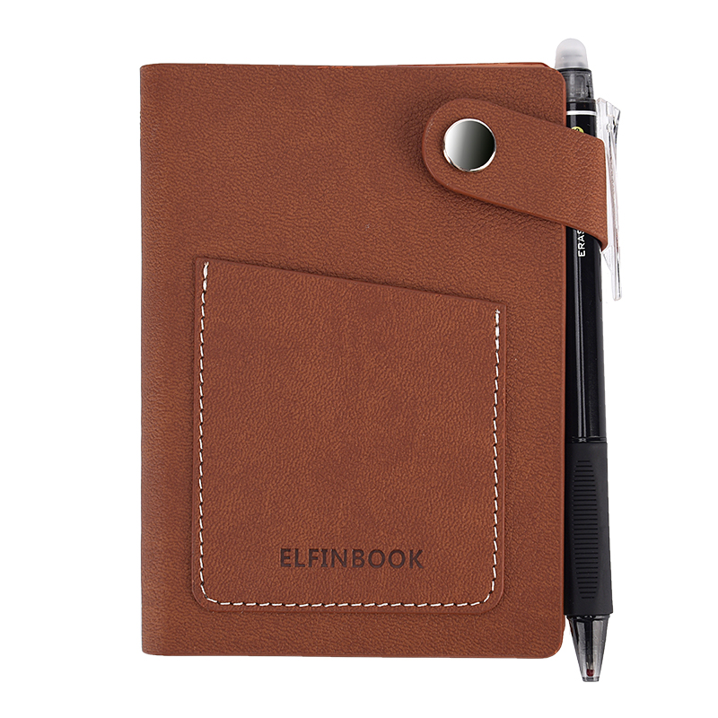 Elfinbook Mini Reusable Smart Notebook With Pen Save Paper Perfect For Gifting